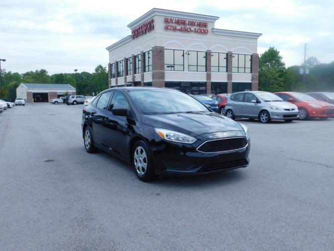 2016 Ford Focus S Sedan (1FADP3E2XGL) with an 2.0L L4 DOHC 16V engine, 5M transmission, located at 4247 Buford Drive NE, Buford, GA, 30518, (678) 450-1000, 34.086857, -83.993004 - Photo #0