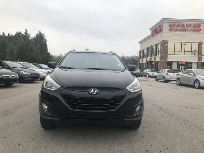 2014 Hyundai Tucson GLS AWD (KM8JUCAGXEU) with an 2.4L L4 DOHC 16V engine, 6-Speed Automatic transmission, located at 4247 Buford Drive NE, Buford, GA, 30518, (678) 450-1000, 34.086857, -83.993004 - Photo #1