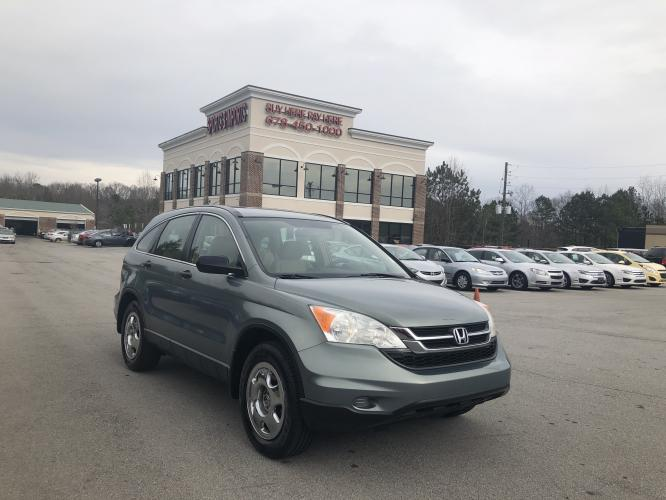 2010 Honda CR-V LX 2WD 5-Speed AT (JHLRE3H39AC) with an 2.4L L4 DOHC 16V engine, 5-Speed Automatic transmission, located at 620 Jesse Jewell Pkwy, Gainesville, GA, 30501, (678) 450-1000, 34.305923, -83.809784 - Photo #0
