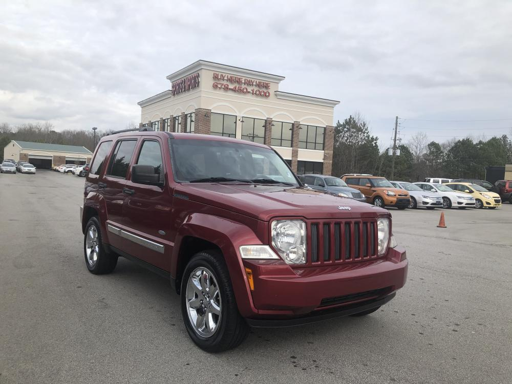 2012 Jeep Liberty Sport 4WD (1C4PJMAK9CW) with an 3.7L V6 SOHC 12V engine, 4-Speed Automatic transmission, located at 4247 Buford Drive NE, Buford, GA, 30518, (678) 450-1000, 34.086857, -83.993004 - Photo #0