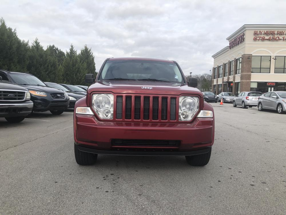 2012 Jeep Liberty Sport 4WD (1C4PJMAK9CW) with an 3.7L V6 SOHC 12V engine, 4-Speed Automatic transmission, located at 4247 Buford Drive NE, Buford, GA, 30518, (678) 450-1000, 34.086857, -83.993004 - Photo #1