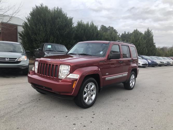 2012 Jeep Liberty Sport 4WD (1C4PJMAK9CW) with an 3.7L V6 SOHC 12V engine, 4-Speed Automatic transmission, located at 4247 Buford Drive NE, Buford, GA, 30518, (678) 450-1000, 34.086857, -83.993004 - Photo #2