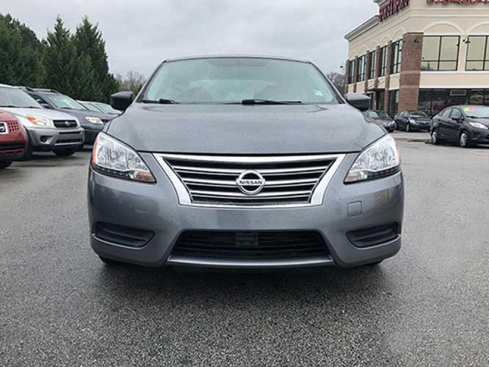 2015 Nissan Sentra S 6AT (3N1AB7AP9FY) with an 1.8L L4 SFI DOHC 16V engine, 6-Speed Automatic transmission, located at 4247 Buford Drive NE, Buford, GA, 30518, (678) 450-1000, 34.086857, -83.993004 - Photo #1