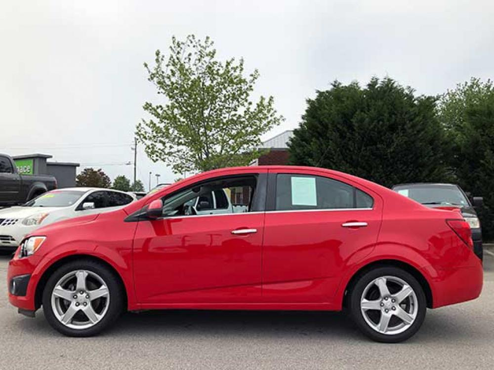 2015 Chevrolet Sonic LTZ Auto Sedan (1G1JE5SB8F4) with an 1.4L L4 DOHC 24V TURBO engine, 6-Speed Automatic transmission, located at 4247 Buford Drive NE, Buford, GA, 30518, (678) 450-1000, 34.086857, -83.993004 - Photo #2