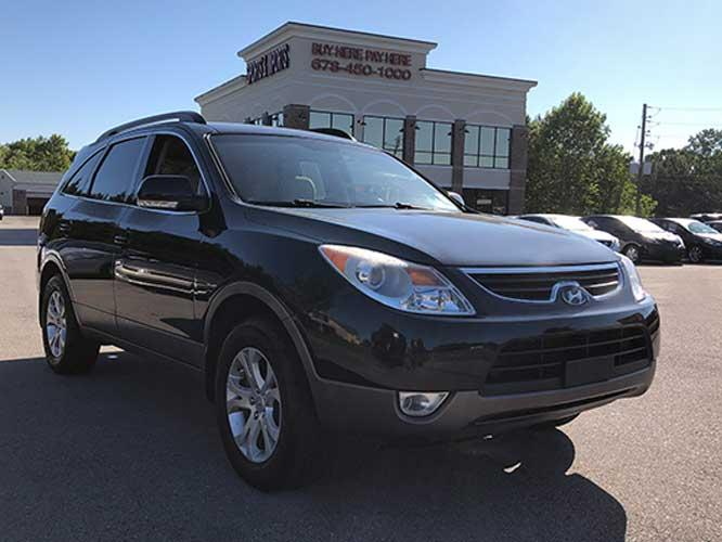 2012 Hyundai Veracruz Limited (KM8NU4CC7CU) with an 3.8L V6 DOHC 24V engine, 6-Speed Automatic transmission, located at 4247 Buford Drive NE, Buford, GA, 30518, (678) 450-1000, 34.086857, -83.993004 - Photo #0