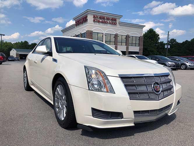 2010 Cadillac CTS 3.0L Luxury (1G6DE5EG8A0) with an 3.0L V6 DOHC 24V engine, located at 4247 Buford Drive NE, Buford, GA, 30518, (678) 450-1000, 34.086857, -83.993004 - Photo #0