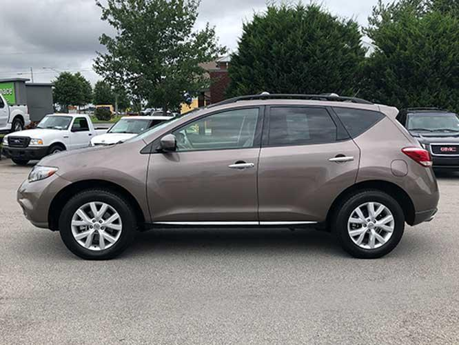 2011 Nissan Murano LE (JN8AZ1MU6BW) with an 3.5L V6 DOHC 24V engine, CVT transmission, located at 4247 Buford Drive NE, Buford, GA, 30518, (678) 450-1000, 34.086857, -83.993004 - Photo #3