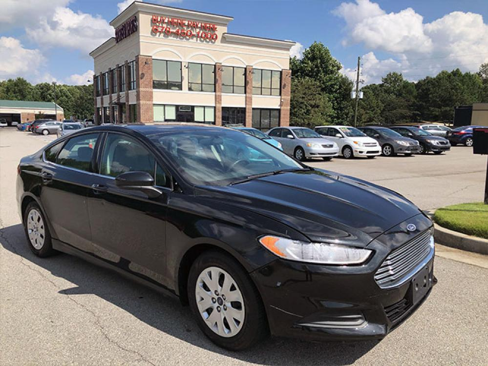 2014 Ford Fusion S (3FA6P0G74ER) with an 2.5L L4 DOHC 16V engine, located at 4247 Buford Drive NE, Buford, GA, 30518, (678) 450-1000, 34.086857, -83.993004 - Photo #0