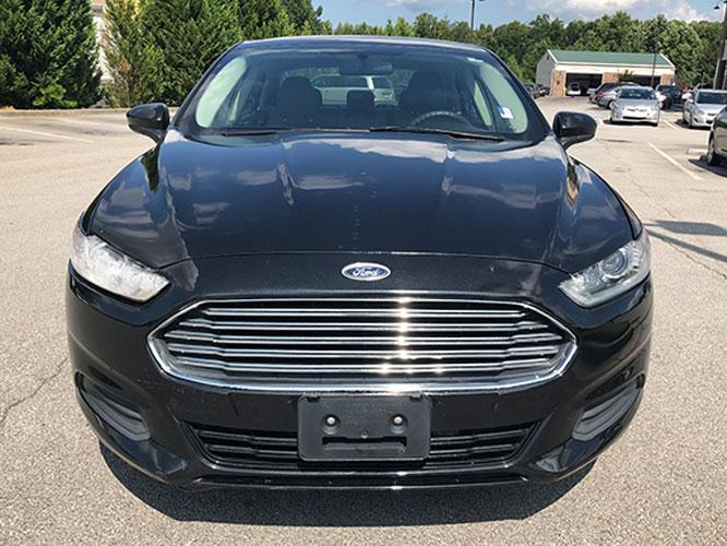 2014 Ford Fusion S (3FA6P0G74ER) with an 2.5L L4 DOHC 16V engine, located at 4247 Buford Drive NE, Buford, GA, 30518, (678) 450-1000, 34.086857, -83.993004 - Photo #1