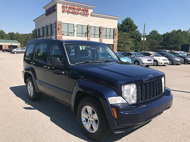 2012 Jeep Liberty Sport 4WD (1C4PJMAK7CW) with an 3.7L V6 SOHC 12V engine, 4-Speed Automatic transmission, located at 4247 Buford Drive NE, Buford, GA, 30518, (678) 450-1000, 34.086857, -83.993004 - Photo #0