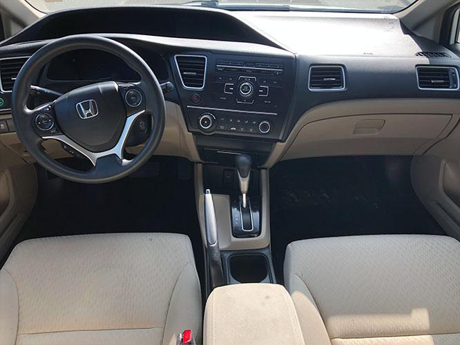 2014 Honda Civic LX Sedan CVT (19XFB2F5XEE) with an 1.8L L4 SOHC 16V engine, Continuously Variable Transmission transmission, located at 4247 Buford Drive NE, Buford, GA, 30518, (678) 450-1000, 34.086857, -83.993004 - Photo #9