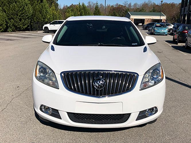 2014 Buick Verano Base (1G4PP5SKXE4) with an 2.4L L4 DOHC 16V FFV engine, 6-Speed Automatic transmission, located at 4247 Buford Drive NE, Buford, GA, 30518, (678) 450-1000, 34.086857, -83.993004 - Photo #1