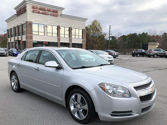 2012 Chevrolet Malibu 2LT (1G1ZD5E07CF) with an 2.4L L4 DOHC 16V engine, 6-Speed Automatic transmission, located at 4247 Buford Drive NE, Buford, GA, 30518, (678) 450-1000, 34.086857, -83.993004 - Photo #0