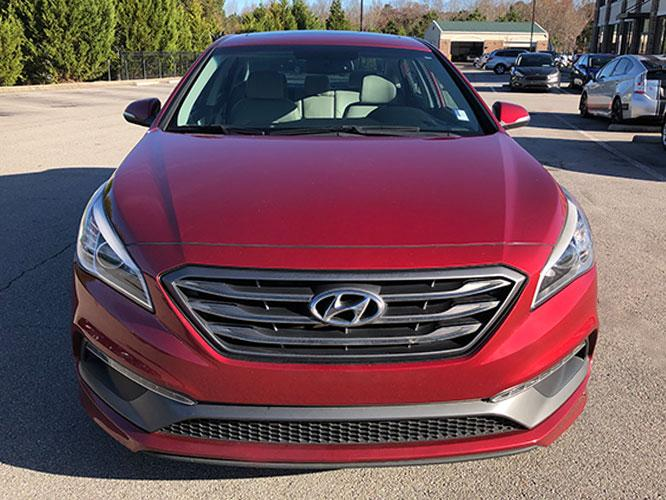 2016 Hyundai Sonata Sport (5NPE34AF6GH) with an 2.4L L4 DOHC 16V engine, 6A transmission, located at 4247 Buford Drive NE, Buford, GA, 30518, (678) 450-1000, 34.086857, -83.993004 - Photo #1