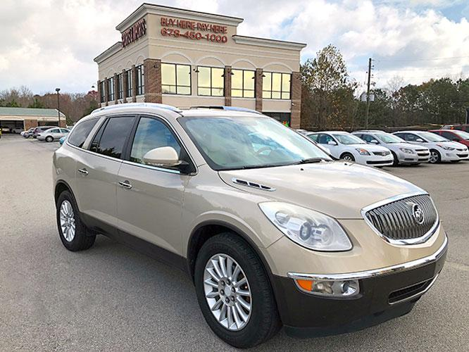 2012 Buick Enclave Leather AWD (5GAKVCED9CJ) with an 3.6L V6 DOHC 24V engine, 6-Speed Automatic Overdrive transmission, located at 4247 Buford Drive NE, Buford, GA, 30518, (678) 450-1000, 34.086857, -83.993004 - Photo #0