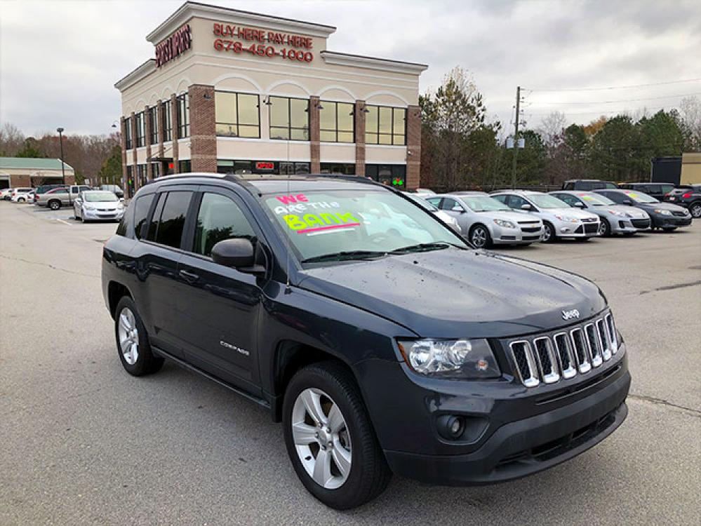 2014 Jeep Compass Sport FWD (1C4NJCBA4ED) with an 2.0L L4 DOHC 16V engine, located at 4247 Buford Drive NE, Buford, GA, 30518, (678) 450-1000, 34.086857, -83.993004 - Photo #0