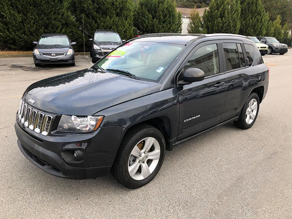 2014 Jeep Compass Sport FWD (1C4NJCBA4ED) with an 2.0L L4 DOHC 16V engine, located at 4247 Buford Drive NE, Buford, GA, 30518, (678) 450-1000, 34.086857, -83.993004 - Photo #2