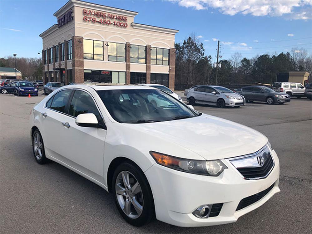 2011 Acura TSX 5-Speed AT with Tech Package (JH4CU2F68BC) with an 2.4L L4 DOHC 16V engine, 5-Speed Automatic transmission, located at 4247 Buford Drive NE, Buford, GA, 30518, (678) 450-1000, 34.086857, -83.993004 - Photo #0