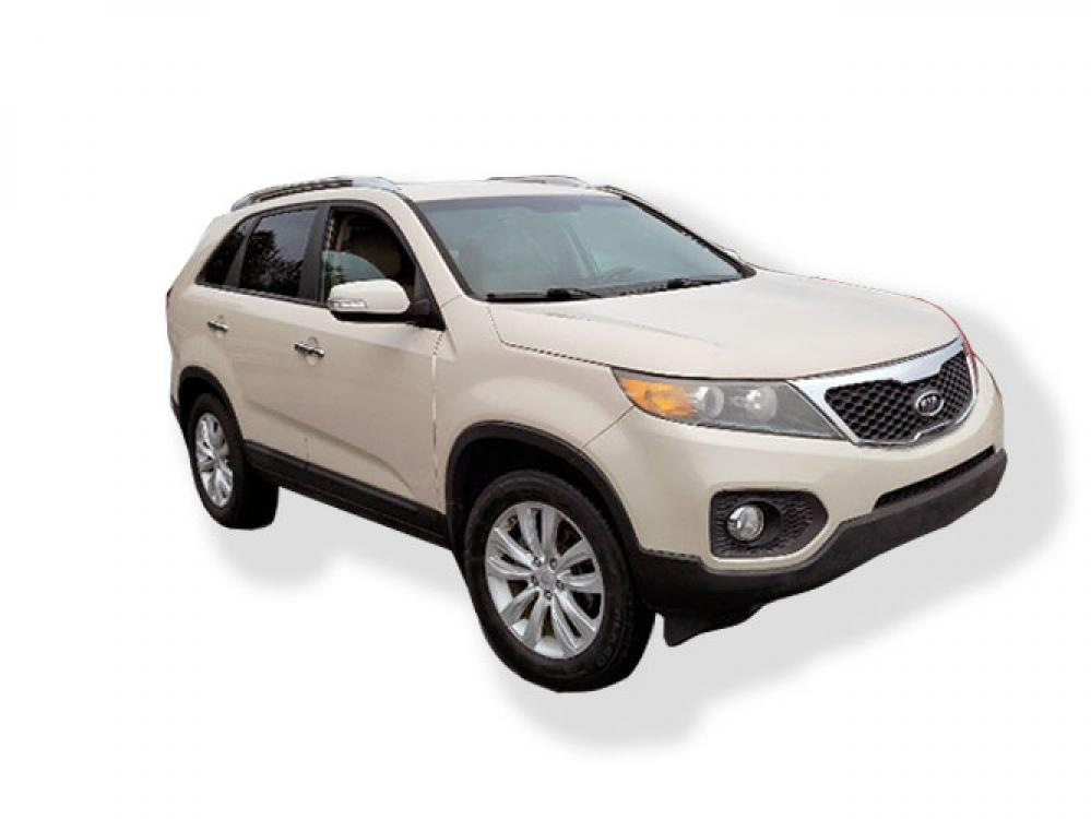 2011 Kia Sorento EX 2WD (5XYKU3A14BG) with an 2.4L L4 DOHC 16V engine, 6-Speed Automatic transmission, located at 4247 Buford Drive NE, Buford, GA, 30518, (678) 450-1000, 34.086857, -83.993004 - Photo #0