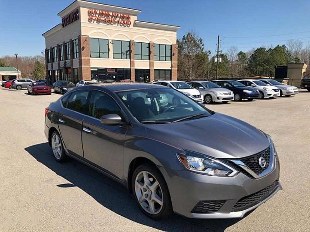 2016 Nissan Sentra FE+ S (3N1AB7APXGY) with an 1.8L L4 SFI DOHC 16V engine, CVT transmission, located at 4247 Buford Drive NE, Buford, GA, 30518, (678) 450-1000, 34.086857, -83.993004 - Photo #0