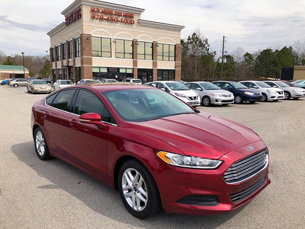 2016 Ford Fusion SE (1FA6P0H78G5) with an 2.5L L4 DOHC 16V engine, 6-Speed Automatic transmission, located at 4247 Buford Drive NE, Buford, GA, 30518, (678) 450-1000, 34.086857, -83.993004 - Photo #0